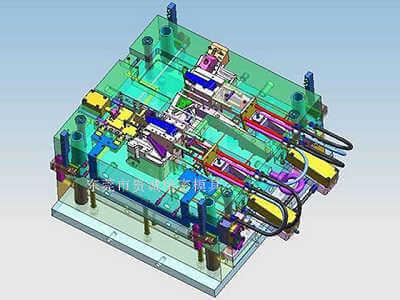 Automotive mold structure image
